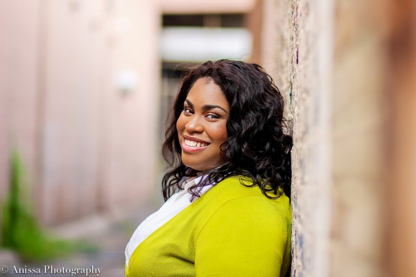Angela Thomas, Angie Thomas. Kuva Anissa Hidouk.