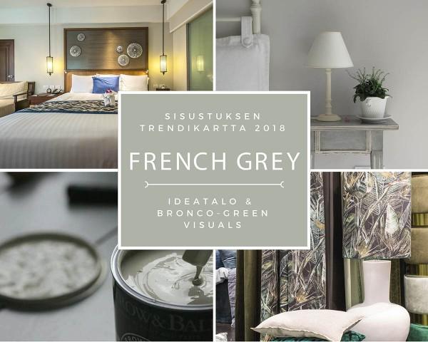 SISUSTUKSEN TRENDIKARTTA 2018 French grey